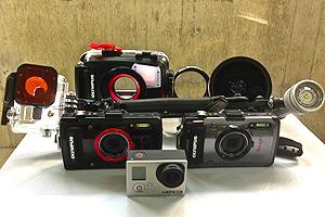 最新の水中カメラ機材